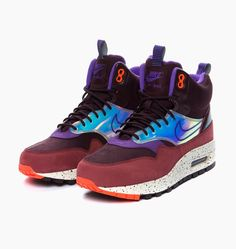 Nike Wmns Air Max 1 Mid Sneakerboot Winter - 149 EUR at Six Feet Down by Caliroots - The Californian Twist of Lifestyle and Culture