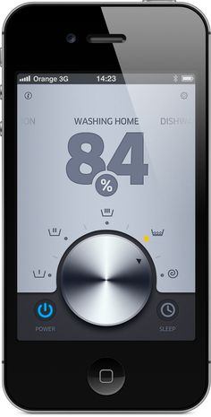 Connect your washing machine to the Cloud: Open Laundry API by Michal Galubinski, via Behance