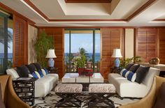 Relax in Hawaii suite-style at the Grand Hyatt Kauai Resort and Spa.