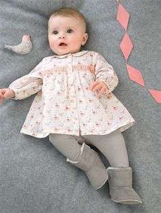 Newborn Baby Girl's 2-Piece Set