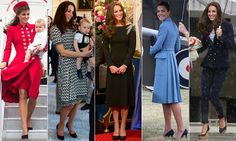 Kate Middleton's royal tour outfits: All the looks