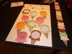 We All Sing for Ice Cream - a lot of prep, but totally worth it. Plus, after you make the board, you could use it over and over, so it's a good investment!