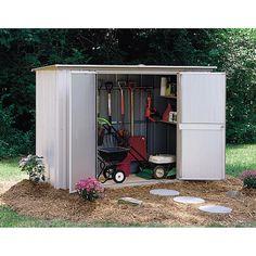 Arrow 8' x 3' GS83 Garden Shed Storage Building