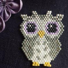 Ma dernière création #brickstitch #perles #beads #jenfiledesperlesetjassume…