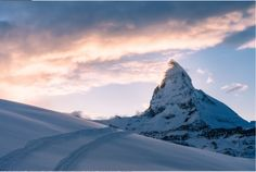 The Matterhorn, Valais, Switzerland