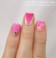 Will Paint Nails for Food: Lush Lacquer Chicks Rule, Swatches and a Simple Skittlette