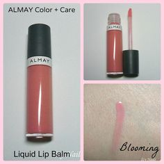 Icy Nails. A review of Almay Color + Care Liquid Lip Balm in Blooming. Please click through to read my review on this product.  #beauty #makeup #icynails #bbloggers #bblogcoalition