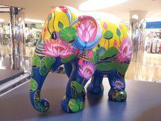 Hong Kong Gets an Elephant Parade - Vision Times Indiana, Ceramic Elephant, Elephant Parade, Asian Elephant, Gentle Giant, Cute Photos, Hong Kong, Street Art, Dinosaur Stuffed Animal