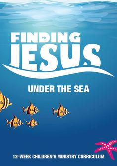 NEW Finding Jesus 12-Week Children's Ministry Curriculum