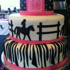 Barrel Racing girl birthday cake | Cakes | Pinterest ...