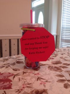 End of year bus driver and crossing guard gift!