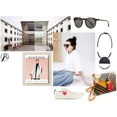 """""""Day at the Museum"""" by ryzeproject on Polyvore"""