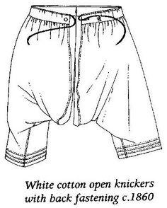 Men's underwear 19th century