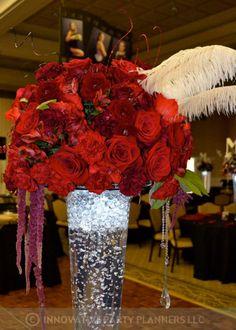 Flowers & Fancies Arrangement, Innovative Party Planners Decor