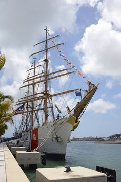 The Barque Eagle in Miami on Father's Day weekend