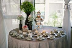 Lar Doce Ana: Arranjos de mesa românticos feitos pela noiva