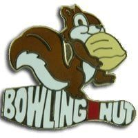 Bowling Nut by Bowling Delights. $3.95. This squirrel is nuts for bowling - goldtone Lapel Pin