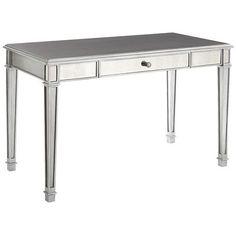 Pier One Mirrored Desk $349.95