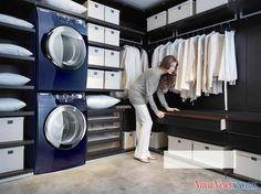 unconventional laundry room