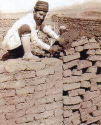 Mar Yosip Khnanisho helping with building of church