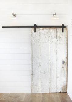 Studio One|San Francisco, Renovation of California Post and Beam with Sliding Barn Doors, Remodelista