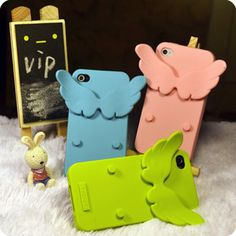 Devil bats Angel Wings 4 Apple iPhone 4 GB mobile phone shell protection shell lovers shell holder