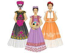 Sistema Frida Digital de la muñeca de papel