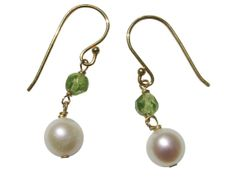 20  OFF  Gold Over Sterling Silver Cultured by BlueBreezeJewelry, $31.99