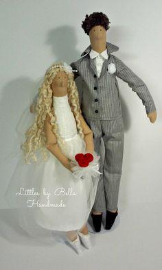 Novias muñeca tilda la muñeca del regalo de boda especial muñeca por littlesbyBella