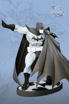 DC Direct Batman Black and White Statue by Andy Kubert / Jonathan Matthews