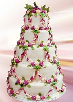 So Pretty Elegant Wedding Cake Design
