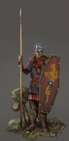 Late Roman Spearman by JLazarusEB.deviantart.com on @DeviantArt