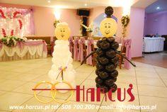 Para Młoda z balonów - zawsze robi wrażenie wśród gości (nie tylko tych najmniejszych)