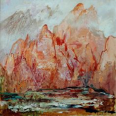 Rochers dans la brume - Hervé Loilier (French, b. 1948)