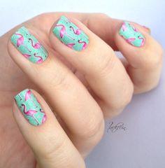 Miss Sophie's Nail Wraps - Pink Flamingo