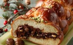 Greek Sweets, Greek Desserts, Greek Recipes, Greek Cake, Greek Easter, Greek Dishes, Pastry Recipes, Meatloaf, Chocolate
