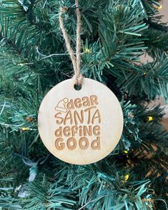 @SunshineLaserCreations posted to Instagram: How cute is this? Tag someone who needs this. www.sunshinelasercreations.com #sunshinelasercreations #cochranelaserengraving #definegood #woodornaments #shoplocalcanada #slcmembers #cochranemoms #yycgifts #christmasdecorations #christmasornaments #cochranesmallbusiness #madeincanada #canadianmade #shoplocal #supportsmallbusiness #supporthandmade #handmadeisbetter Christmas Decorations, Christmas Ornaments, Holiday Decor, Wood Ornaments, Personalized Ornaments, Laser Engraving, Birthdays, Gifts, Instagram