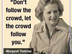 Leadership Quotes Margaret Thatcher