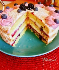 TORT BOUNTY CU AFINE - Flaveur Healthy Desserts For Kids, Healthy Sweets, French Toast, Cheesecake, Breakfast, Kara, Romania, Food, Cakes