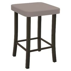 Shop Amisco Ryan Metal Stool at Lowe's Canada. Find our selection of bar stools at the lowest price guaranteed with price match. Steel Furniture, Bar Furniture, Quality Furniture, Furniture Deals, Brown Furniture, Metal Stool, Metal Bar Stools, Stratus, Brown Bar Stools