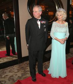 Prince Charles and Duchess Camilla at the Commonwealth Heads of Government 2013 Opening Ceremony in Colombo, Sri Lanka 15 Nov 2013