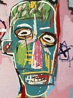 Jean-Michel Basquiat, detail
