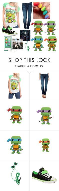 """""""Teenage Mutant Ninja Turtles"""" by ferny117 ❤ liked on Polyvore featuring Levi's, Converse, adaytoremember and teenagemutantninjaturtles"""