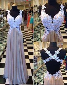 A-line Appliqued Long Prom Dress  ,Popular Wedding Party Dress,Fashion Evening Dresses PDS0116