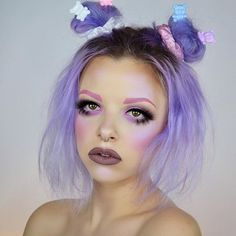 Melanie Martinez inspired look today, who else is a cry baby? ✨ This tutorial will be up on my channel tomorrow, make sure to subscribe! Link in bio