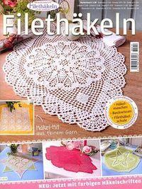 """Photo from album """"Filethakeln on Yandex. Crochet Books, Crochet Hats, Crochet Magazine, Views Album, Crochet Earrings, Outdoor Blanket, Kids Rugs, Yandex Disk, Magazines"""