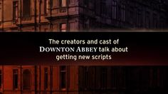 Downton Abbey Addicts: Video: Downton Abbey, Season 4 - The Cast Talk About Getting New Scripts