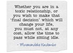 Whether you are in a toxic relationship, or you wish to make... Toxic Relationships, Meaningful Words, You Must, Be Yourself Quotes, You Changed, Me Quotes, Wish, Hate, How To Make