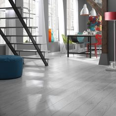 Laminate flooring is stylish & practical. With a variety of designs from wood to stone finishes, browse Carpetright's range & order free samples online today. Wood Floors, Interior, Oak Laminate Flooring, Laminate, Elegant Homes, Flooring, Solid Wood Flooring, Interior Design, Wood Laminate