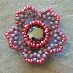 Beads By Becs: Friday Flower Freebie!